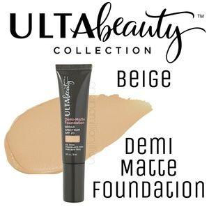 Ulta Demi Matte Foundation - Beige